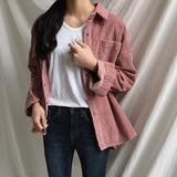 Oversized Corduroy Jacket