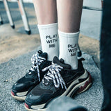"""Play With Me"" Socks"