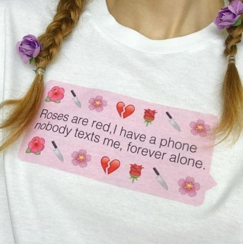 """Forever Alone"" Tee"