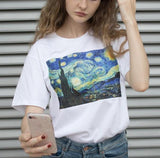 Van Gogh Paintings Tee