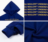 """You Wouldn't Understand"" Cropped Hoodie"