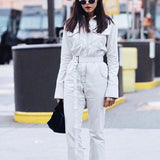 Denim Flight Jumpsuit