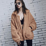 Zip Up Sherpa Jacket