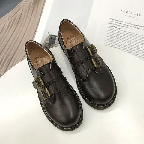 Double Strap Monk Boots