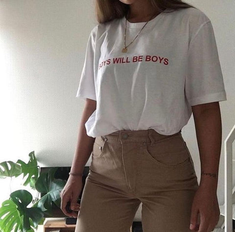 Boys Will Be Boys Tee