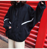 Cotton Zip Up Vintage Sport Jacket