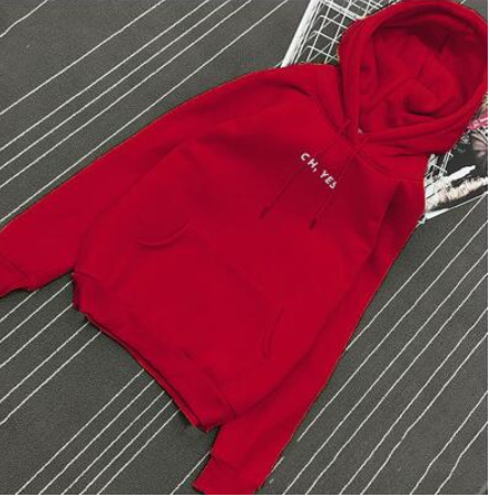 """Oh Yes"" Oversized Hoodie"