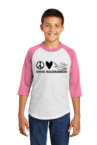 Kids 3/4 Peace Love and Roadrunners