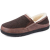 Men's Andrew Twill Upper Fleece Lined Closed Back
