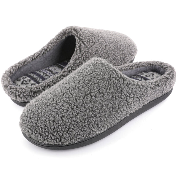 Men's Tribal Clog Slipper with Memory Foam
