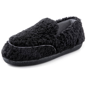 Women's Furry Faux Fur Slippers with Cozy Memory Foam, Ladies Indoor or Outdoor House Shoes