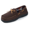 Men's Flannel Lined Memory Foam Moccasin Slipper II
