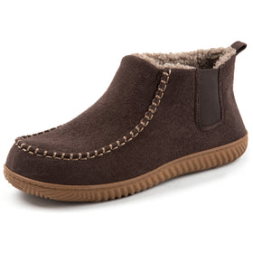 Men's Mason Wool Lined Microsuede Bootie