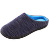 Men's Birdseye Knit Two-Tone Slipper