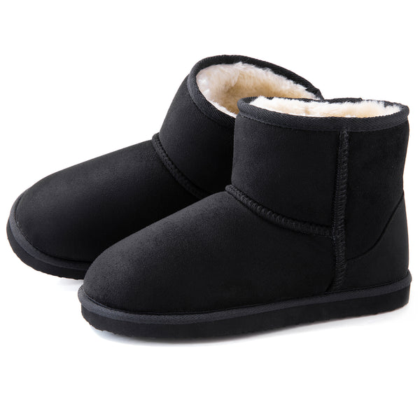 Women's Cozy Suede Bootie Slippers