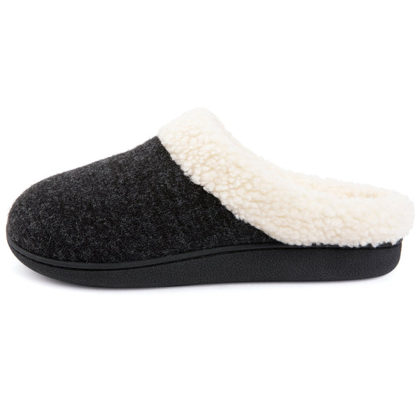 Women's Cozy Memory Foam Slippers Fuzzy Wool-Like