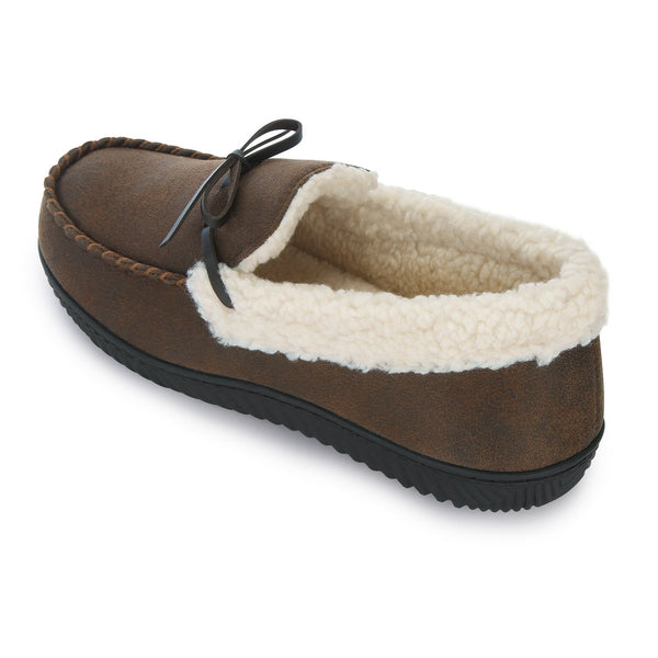 Men's Two-Tone Moccasin with Memory Foam