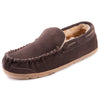 Men's Braxton Genuine Suede Moc Slipper