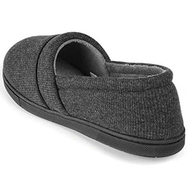 Women's Comfy Memory Foam Cotton Knit Slippers