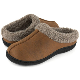 Men's Joshua Microsuede Wool Lined Clog
