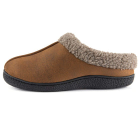 Men's Memory Foam Wool-Like Lining Slipper