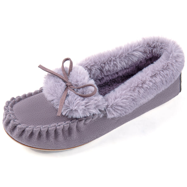 Women's Naomi Faux Fur Moccasin Slipper