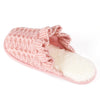 Women's Ruffled Cuff Knit Slip-On
