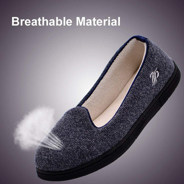 Wishcotton Women's Light Breathable Slippers with Nonslip Sole