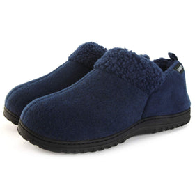 Men's Faux Wool Trim Bootie
