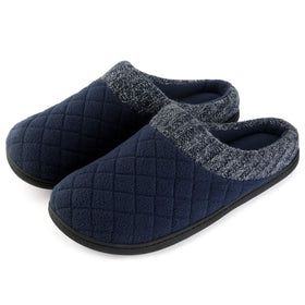 Men's Check Upper Slip-On