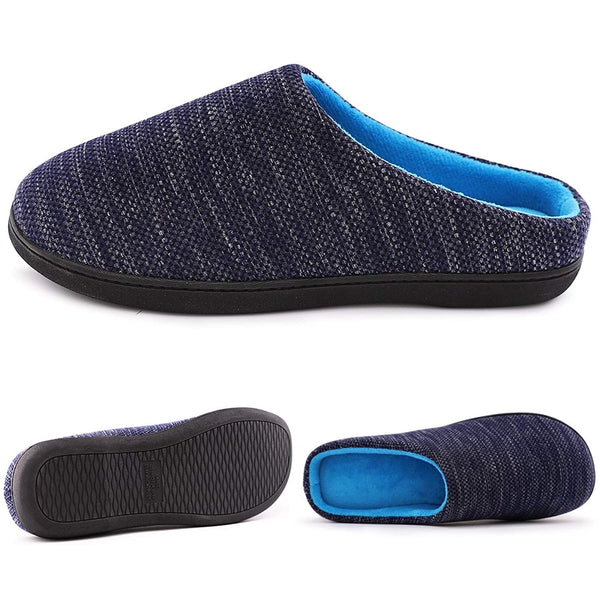 RockDove Men's Two-Tone Memory Foam Slipper