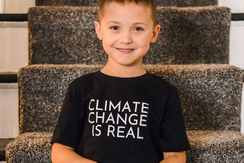 LGBTQ AF Climate Change Is Real Rainbow Squad Kids Shirt