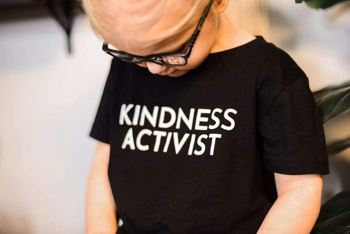 LGBTQ AF Kindness Activist Rainbow Squad Kids Shirt