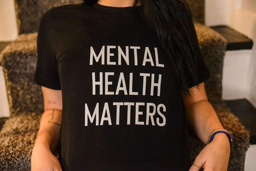 LGBTQ AF Mental Health Matters - Mental Health Awareness Shirt