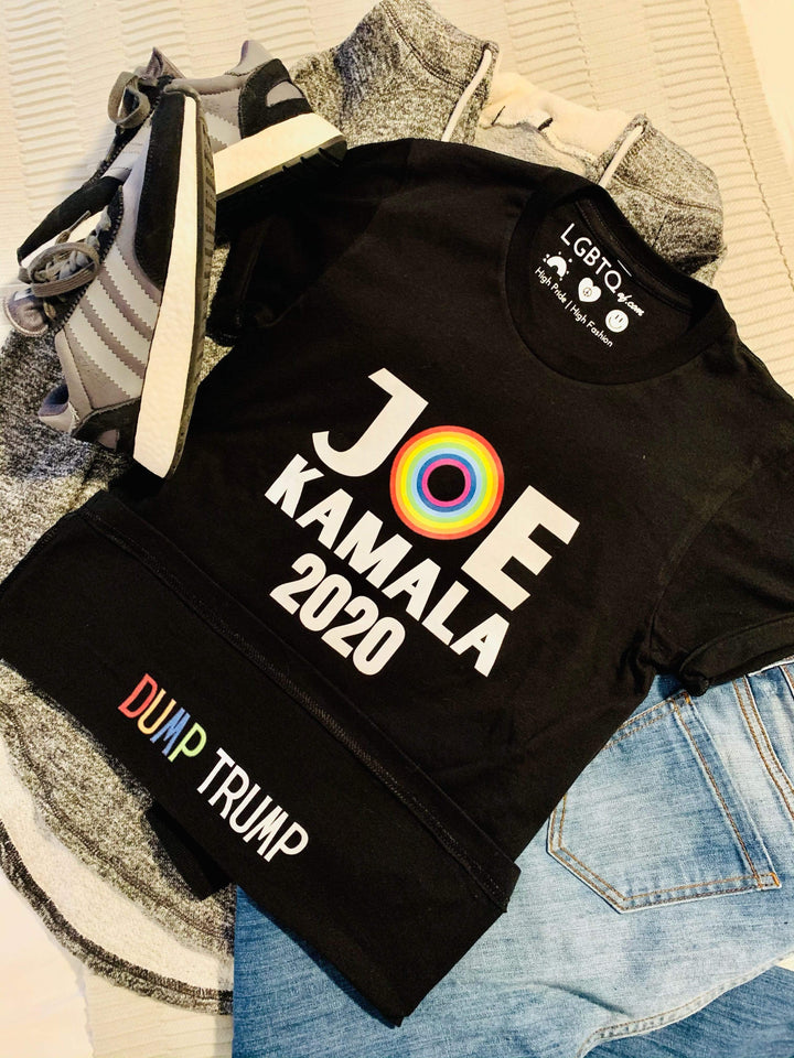 LGBTQ AF Ridin' Clean with Biden Flip-Up Shirt™