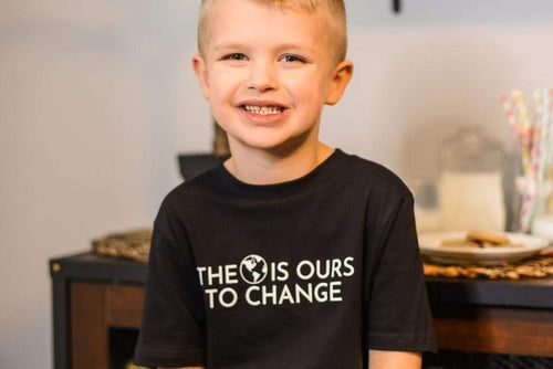 LGBTQ AF The World Is Ours To Change Rainbow Squad Kids Shirt