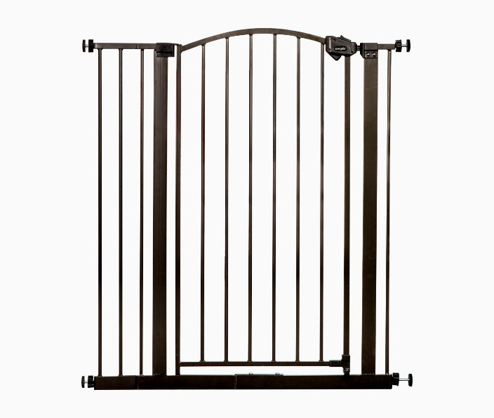 Bronze Extra Tall Arched<br> Decor Safety Gate