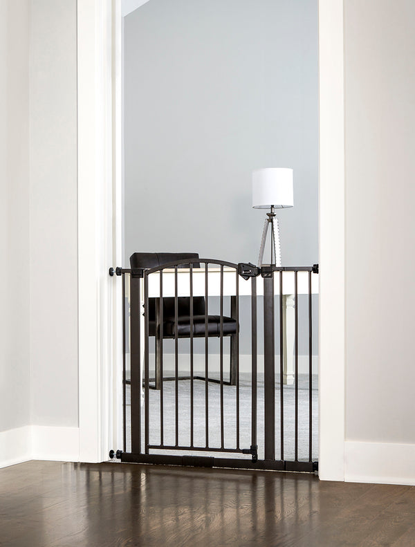 Bronze Arched Decor Safety Gate