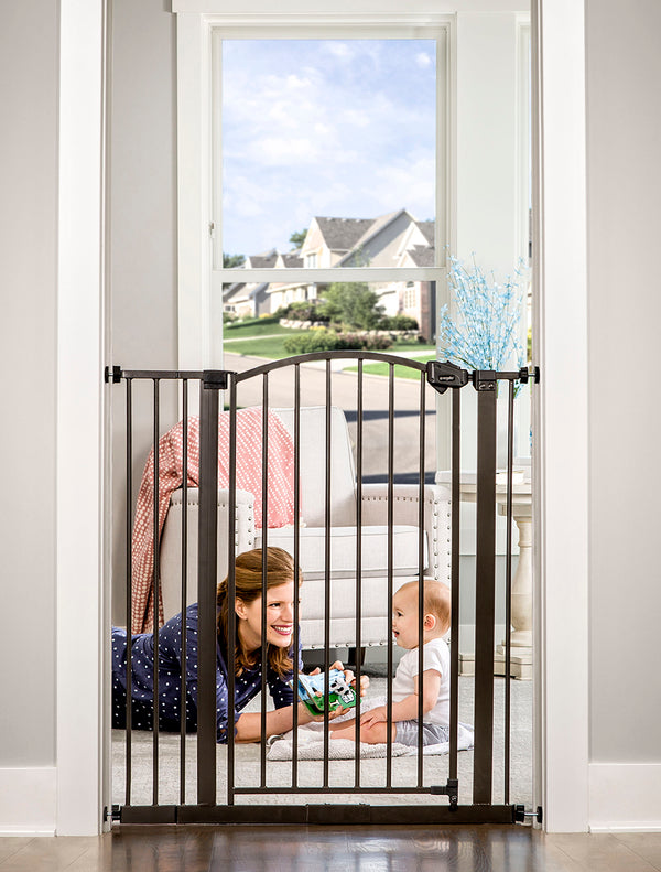 Bronze Extra Tall Arched Decor Safety Gate