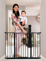Easy Step® Extra Wide Black Safety Gate
