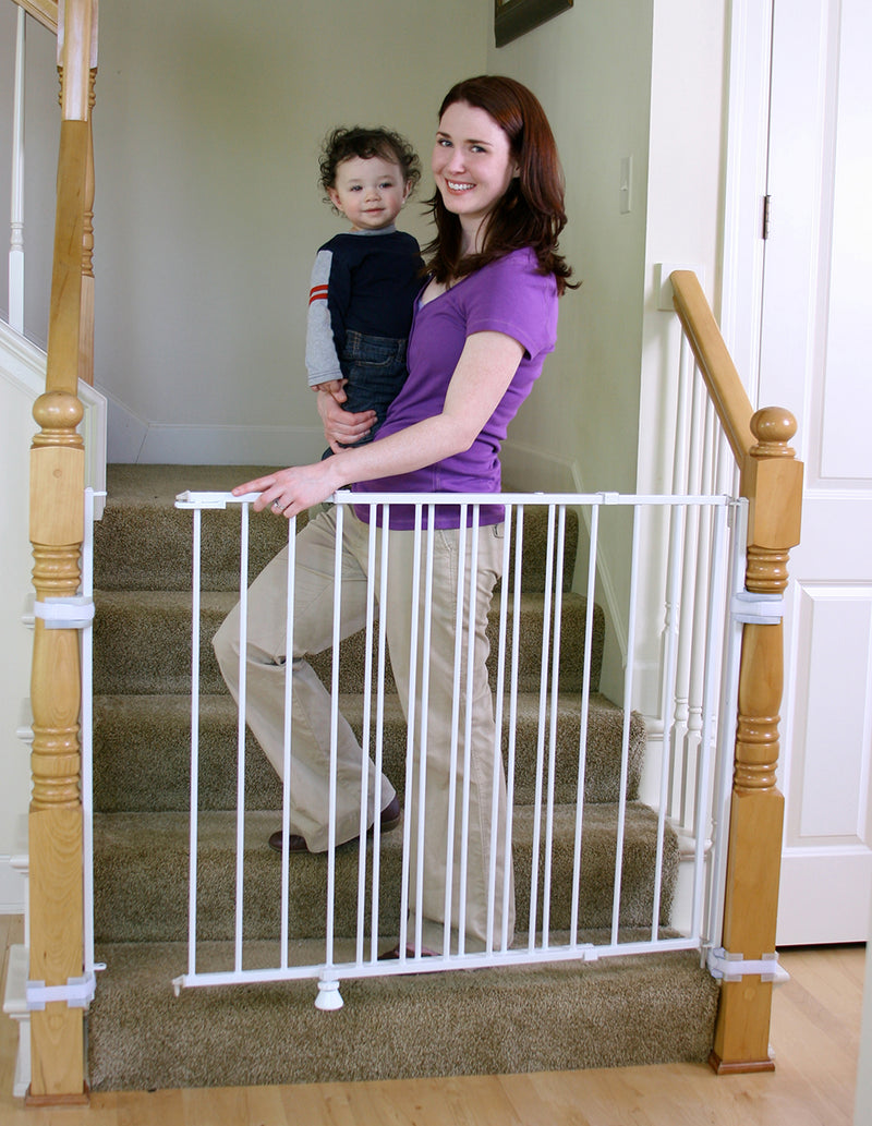 Extra Tall Top of Stairs Baby Gate