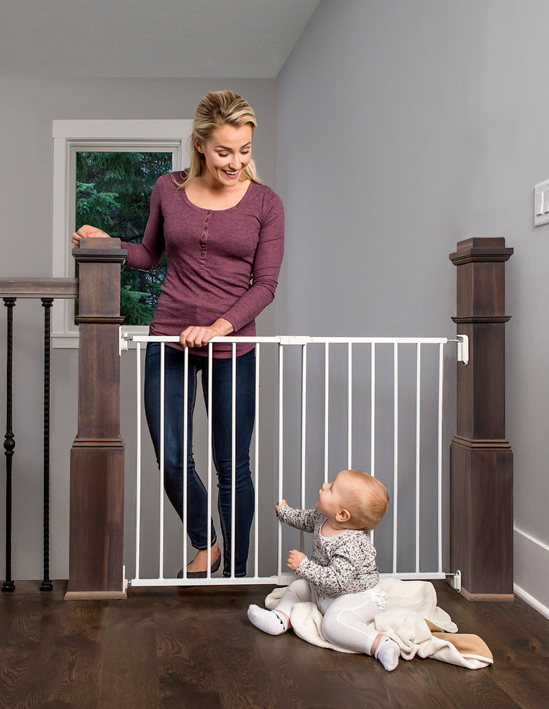 Top of Stair Baby Gate - Hardware Mounted