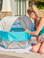 My Play Baby Portable Infant Bassinet
