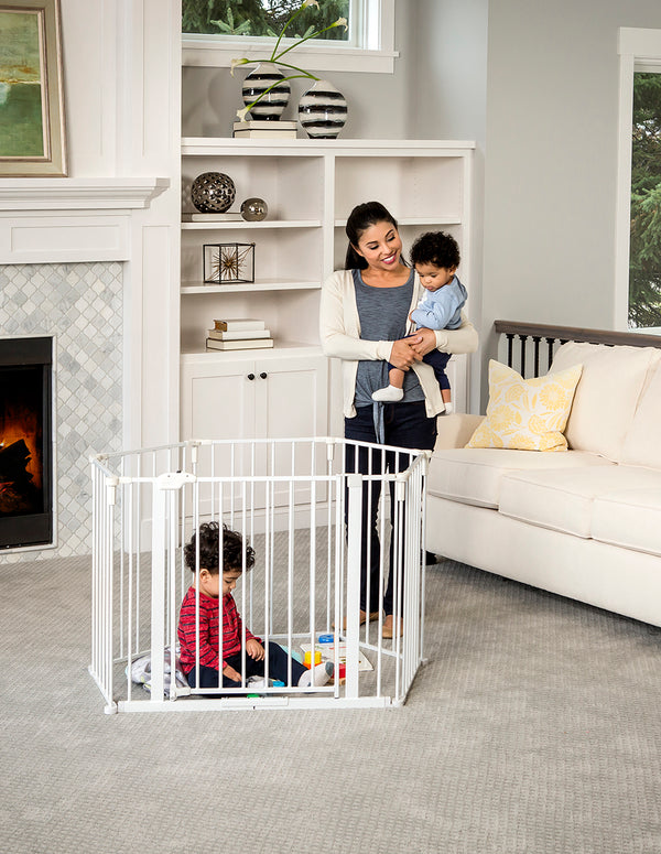 2 In 1 Super Wide Safety Gate And Play Yard Regalo Baby