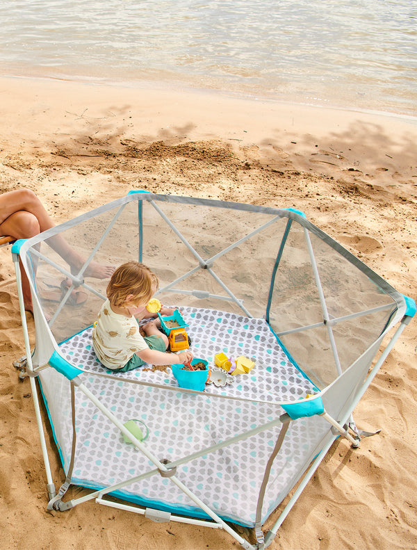6-panel My Play Portable Play Yard® with Pad