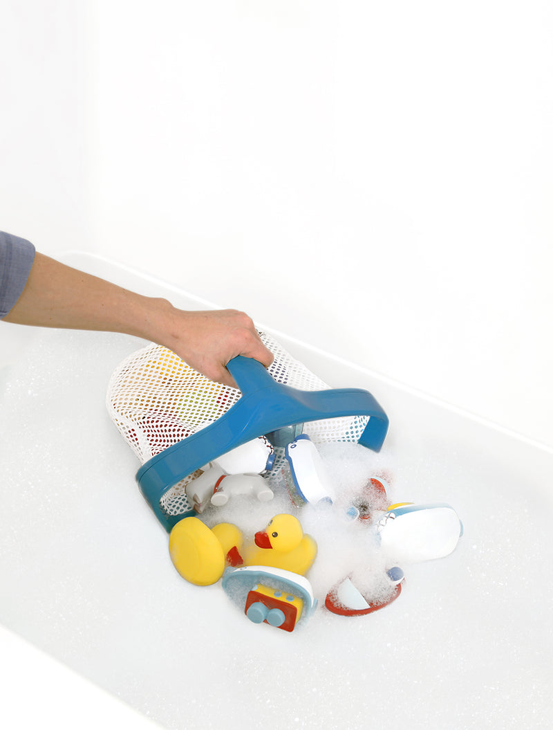 Bath Toy Scoop and Store For Bathtub