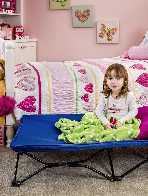 Blue My Cot® Portable Toddler Bed™