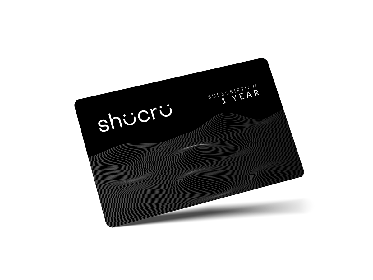 Shucru Subscription Gift Card (1 Year)