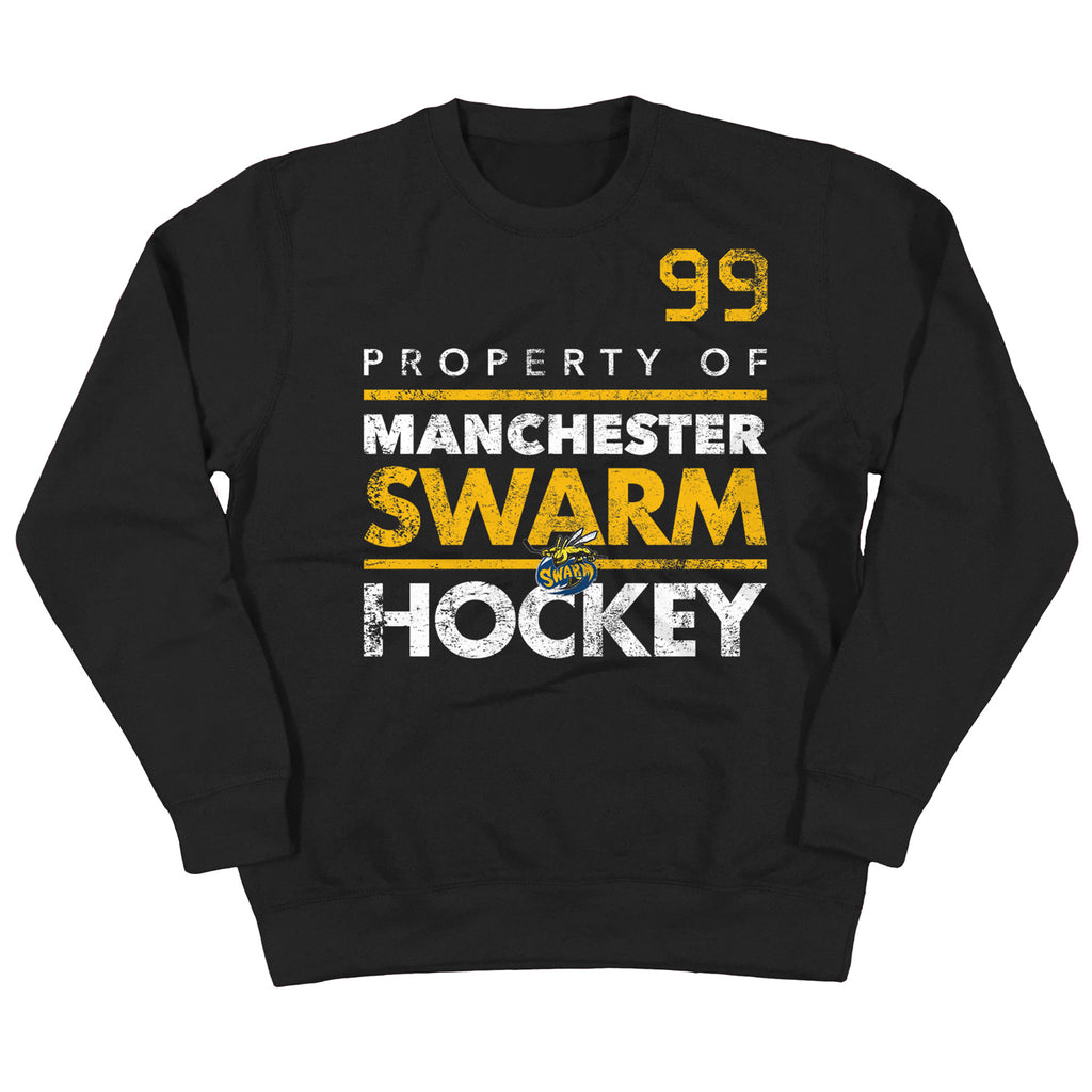 Swarm Black Sweatshirt