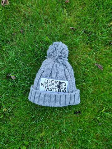 Look North Mate kids Bobble Beanie